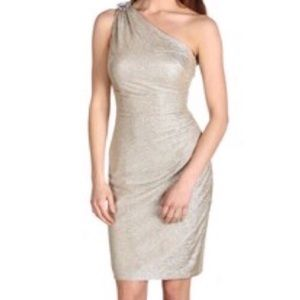 ✨Maggy London ✨One Shoulder Stretchy Dress Size 4